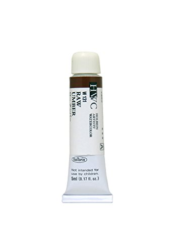 Holbein Artists Watercolor Raw Umber 5ml