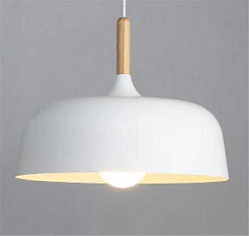 Madaye Moderne simple lustre créatif personnalité bois massif table à manger lampe salon chambre à coucher bureau lumière 32*23cm