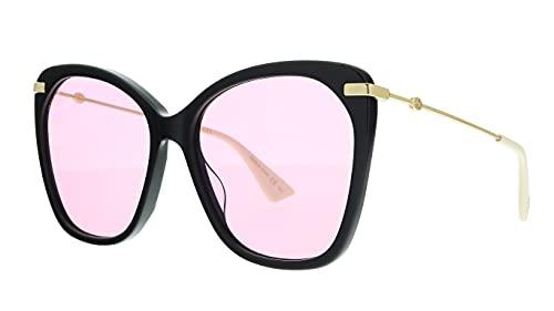 Gucci Sonnenbrillen GG0510S Black/PINK Damenbrillen
