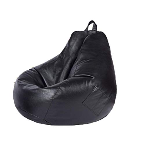 GUOXY Sofa-Bezug ohne Füllstoff, Leinen, Leder, Liege, Sitzsack, Puff Couch, Wohnzimmer, Niture, C