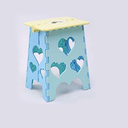 PLL Kinder-kunststof klapstoel verdikking volwassenen outdoor-klapstoel comfortabel thuis kruk creatieve kruk