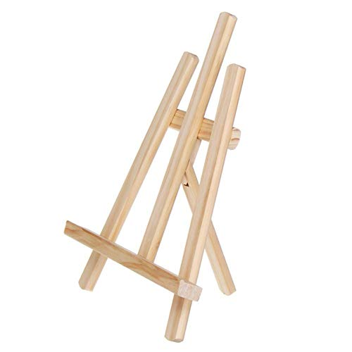 Marcos de fotos 21 x 28 cm de madera caballete artista arte caballete artesanía mesa de madera ajustable titular de la exhibición calendario estante de exhibición mesa de boda