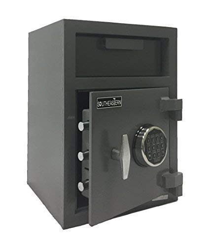 SOUTHEASTERN Cash Drop Depository Safe with Quick Digital Lock …