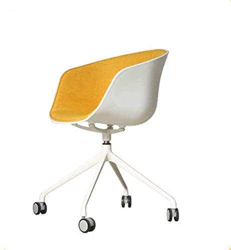 JIADUOBAO -C - Silla de oficina ejecutiva para oficina, sala de conferencias, silla de jefe, silla de oficina informal, color blanco, silla de oficina, para el hogar, silla de ordenador C (color 6)