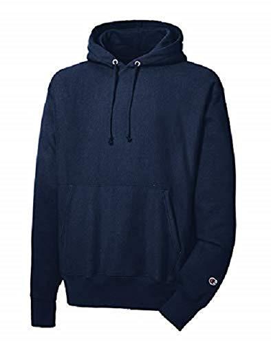 Champion LIFE Men's Reverse Weave Pullover Hoodie, Navy, M