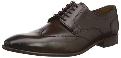 LLOYD Herren Businessschuh Padua, Männer Schnürhalbschuhe, Derby schnürung Business-Schuh anzugschuh Office Herren Maenner,Pepper,7.5 UK / 41 EU