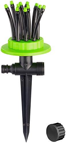 Royal Gardineer Wasser Sprinkler Garten: Gartensprinkler mit 12 biegsamen Düsen (Wassersprinkler)