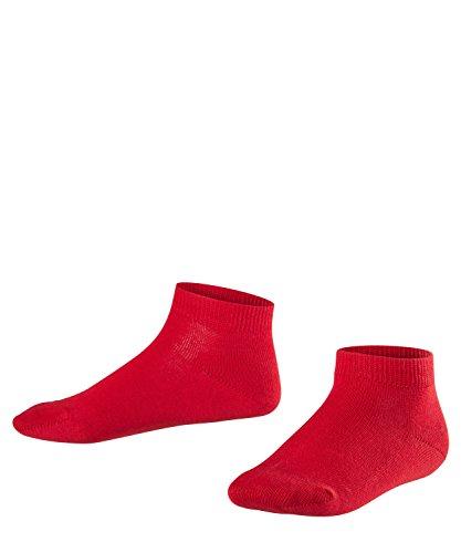 FALKE Unisex Kinder Family K SN Socken, Rot (Fire 8150), 27-30