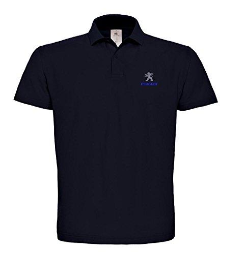 caprica91 Peugeot Bestickte Poloshirt, super Premium-Qualität, 100% Baumwolle -130 (XL)