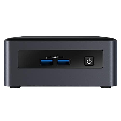 Intel Nuc Mini Komplett PC, Intel i5-8259U Quad Core 4 x 3.80 GHz, 8 GB DDR4 RAM, 256 GB SSD, USB 3.1, HDMI, Intel Iris Plus Grafik 640, 4K Auflösung, Windows 10 Pro, 3 Jahre Garantie