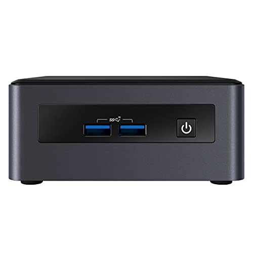 Intel Nuc Mini - Ordenador de sobremesa completo (Intel Quad Core i5 4 x 4,10 GHz, 8 GB de RAM, 256 GB SSD, USB 3.0, HDMI, Intel UHD Graphics, resolución 4K, Windows 10 Pro