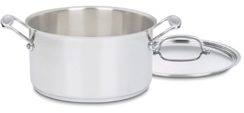 Stockpot with Cover, 6-Quart
