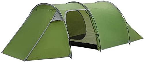 SHWYSHOP Tiendas de campaña para Acampar Tienda de campaña Suministros para Exteriores 3-4 Personas Vivienda Doble Una habitación y una Tienda de túnel Tienda de campaña Lluvia de Manos para B