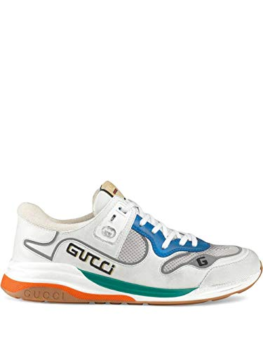 Gucci Luxury Fashion Herren 59234502JM09089 Weiss Leder Sneakers | Frühling Sommer 20