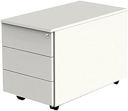 35.0 x 73.0 x 45.0 cm Rollcontainer EURO 3 FMD 306-003/_Buche-Nachbildung B x H x T