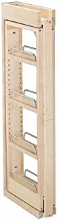 Rev-A-Shelf RS432.WF.3C 3 in. W x 30 in. H Wall Filler Pull Out44; Wood