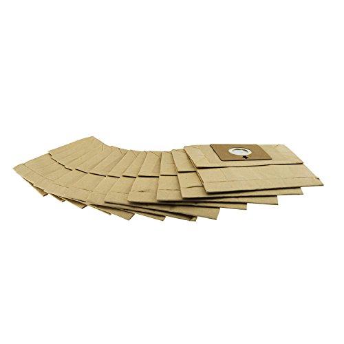 H.Koenig BAGAXO700 Set 12 Sacchi per Aspirapolvere a Cilindro, plastica, Carta