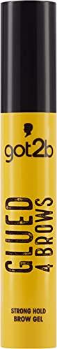 got2b Augenbrauengel Glued 4 Brows, transparente und langanhaltende Augenbrauen Mascara formt die Brauen, Eyebrow Gel mit veganer Formel, 16 ml