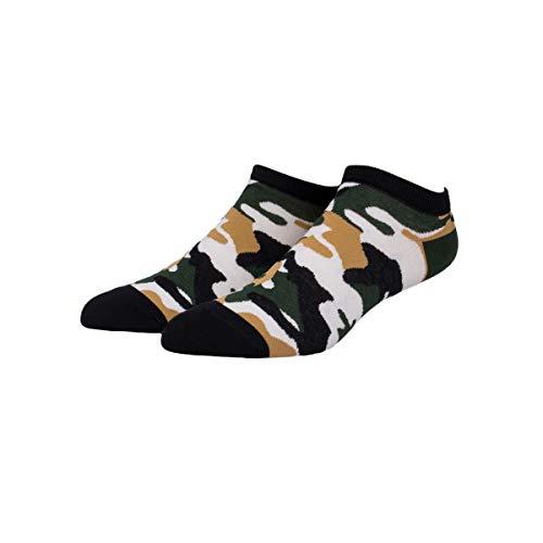 Patron Socks - 2er Pack Bunte Sneaker Socken (2 Paar Camouflage, 41-46)