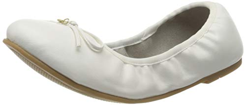 s.Oliver Damen 5-5-22116-24 Geschlossene Ballerinas, Weiß (White 100), 42 EU
