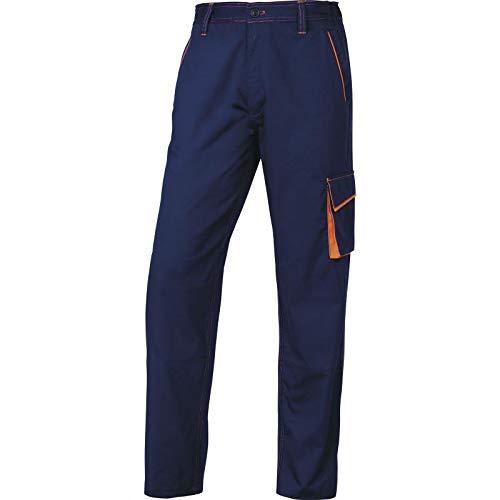Deltaplus 5427613 Pantaloni Panoply Panostyle M6Pan, Taglia XL, Blu/Arancio