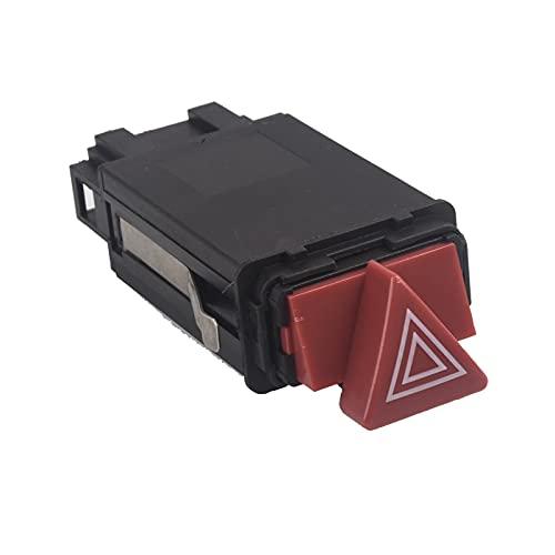 LMMY Apto para Audi A6 S6 RS6 C5 Alltero Quattro Emergencia Peligro de Emergencia Luz de Advertencia Interruptor de fllasher 4B0941509D 10PIN