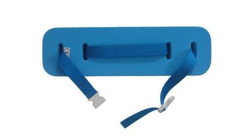 Schwimmgürtel Kleinkind BLAU Schmal mit Sicherheitsverschluß 100cm 0-4 Jahre verstellbares Gurtband. Auftriebshilfe. NEU&Original