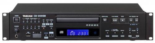 Tascam CD-200SB Registratore a Stato Solido, CD Player, Nero