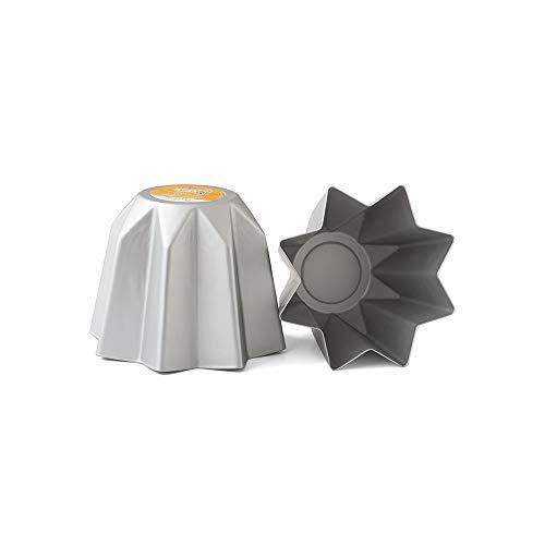 Decora 0062688 BACKFORM FÜR Mini-PANDORO AUS ELOXIERTEM Aluminium 750 G