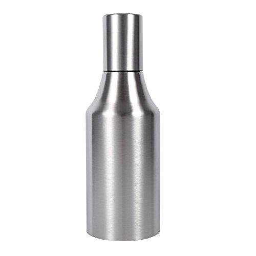 304 Olla de Aceite de Acero Inoxidable Práctica Botella de Dispensador de Aceite A Prueba de Fugas Envase de Aceite Olla Cocina(1000ML)