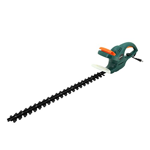 Save %5 Now! DOEWORKS 4.5AMP Corded Electric Hedge Trimmer with 25 Dual Steel Blade
