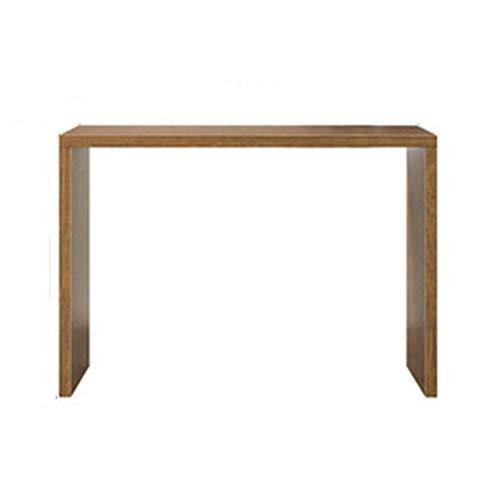 ChengBeautiful Table De Bar Bar comptoir Table à Manger Fenêtres ménagères Bar Modern Bar Balcon Petite Bar Compteur Cuisine Ouverte Salon Long Table (Couleur : Natural, Size : 140x50x105cm)