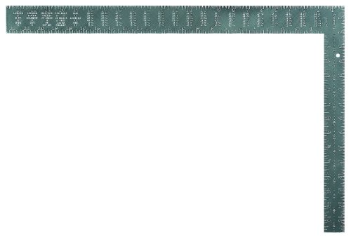 "Starrett RSS-24 Steel L-Shaped Professional Rafter/Framing Square, 24"" x 16"" Length"
