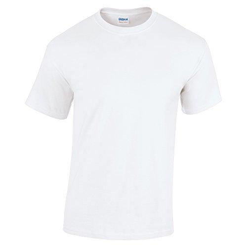 Gildan 5.3 oz. Heavy Cotton T-Shirt, X-Large, White