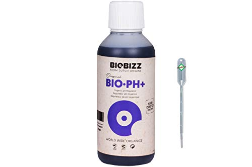 Weedness BioBizz pH+ Plus 250 ml - pH-Heber Grow Anbau Indoor Dünger Ph Plus Flüssig Heben