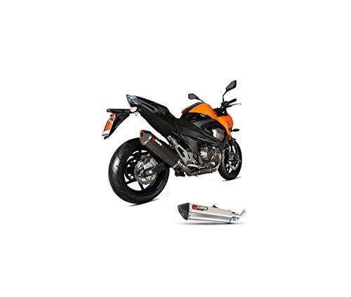 KAWASAKI Z800 E-13/15-SILENCIOSO DE ESCAPE RED SCORPION POWER-76005510 ACERO INOXIDABLE