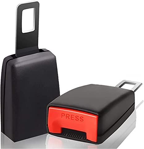 Auto-Sicherheitsgurtschnallen 2er-Pack Universal Auto Auto-Sicherheitsgurtschnalle Buchse Steckverbinder Zubehör