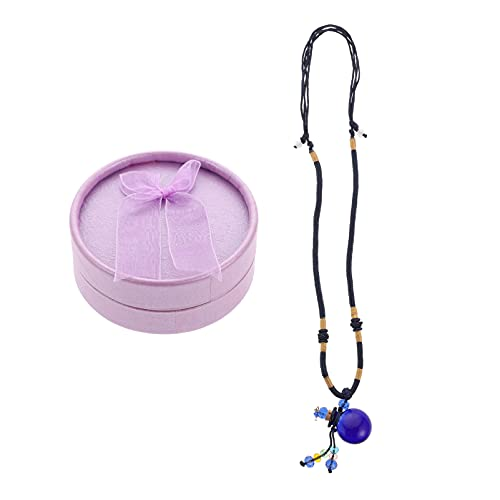 Beaupretty Difusor de Aceites Esenciales Collar de Aromaterapia Collar de Botella de Perfume Collar de Recuerdo de Bebé Joyería para Mujeres Damas
