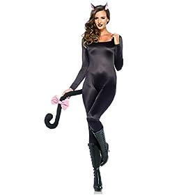 Leg Avenue Women's Spandex Catsuit DIY Costume