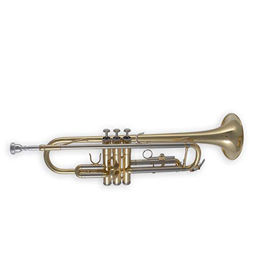 Tuyama TTR-181 Trompete in B - Neusilber-Mundrohr - Mundstück, Koffer und Pflegezubehör im Preis inbegriffen