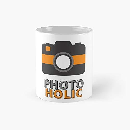 Photoholic Camera Photographyselfie Classic Mug - Funny Gift Coffee Tea Cup White 11 Oz The Best Gift For Holidays.