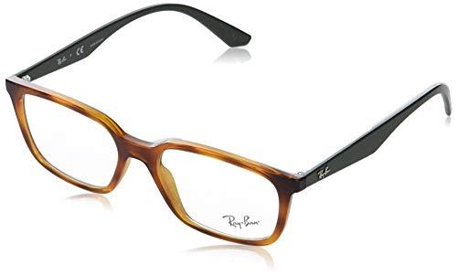 Ray-Ban 0rx7176 Gafas de lectura, Gelb, 54 Unisex Adulto
