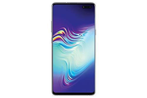 Samsung Galaxy S10 5G Smartphone Single-SIM (15.5cm (6.1 Zoll) 256 GB interner Speicher, 8 GB RAM, Majestic Black) - [Standard] Deutsche Version (Crown Silver)