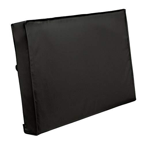 perfk Cubierta de TV Exterior NEGRO Protector Resistente a La Intemperie Pantalla LED LCD - 22-24 pulgadas
