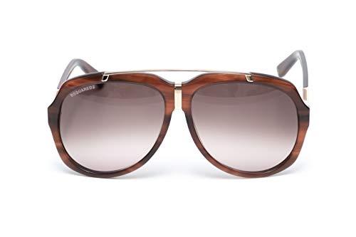 DSQUARED2 D2 Damen Sonnenbrille DQ0110-47F, braun, NEU & OVP, mit Box