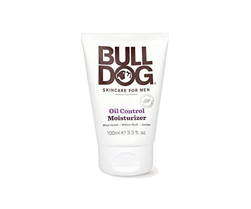 Bulldog Skincare for Men Oil Control Moisturizer, 3.3 fl oz (100 ml) (BDN00170)
