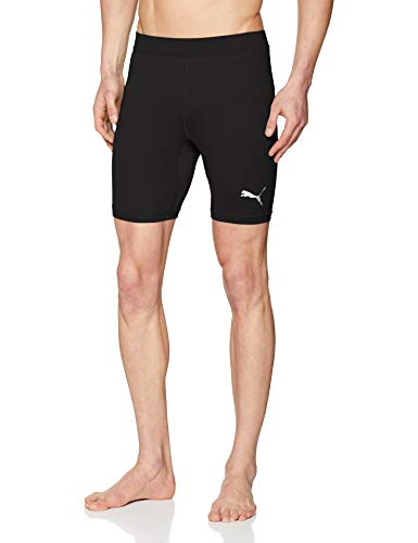 Puma Liga Baselayer Short Tight, Pantaloncini Uomo, Nero Black, L