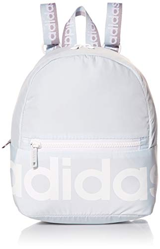adidas Linear Mini Backpack, Sky Blue/White/Grey, One Size