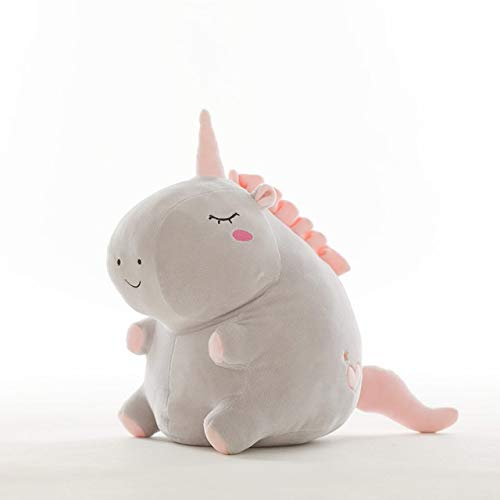 N / A Cute Unicorn Plush Toy Fat Unicorn Doll Cute Animal Stuffed Soft Pillow Baby Kids Toys For Girl Birthday 20cm