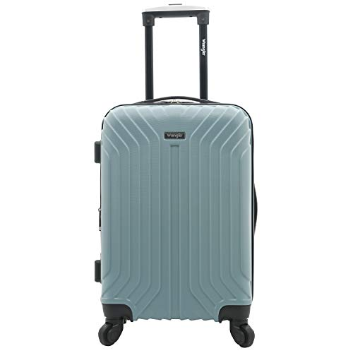 Wrangler 20' Carry-On Auburn Hills Luggage, Smoke Blue-20 Inch